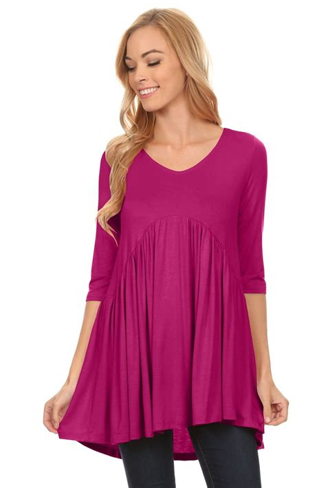 Tunic Top tunic top mini dress with sleeves tunic tops for