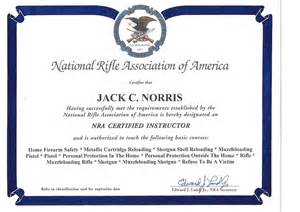 nra certificate template carolina concealed carry