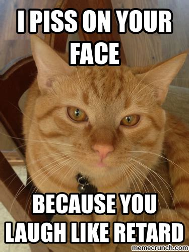 Annoyed Cat Meme - angry cat meme generator i miss you already don t leave