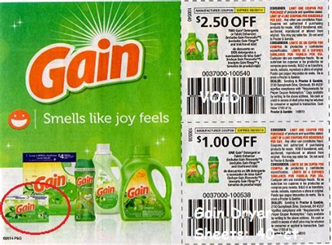printable gain coupons gain dryer sheets 40 ct just 92 162 at walmart