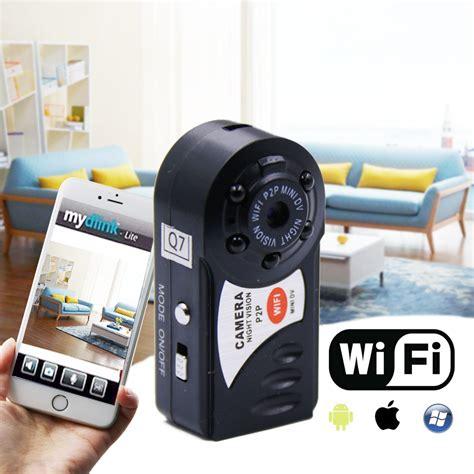 Limited Cctv Wifi Mini Q7 q7 mini wifi dvr recorder wireless wi fi ip camcorder vision with