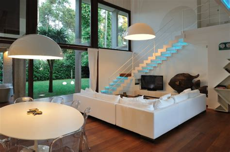 Open Stairs In Living Room by 18 Living Room Stairs Designs Ideas Design Trends