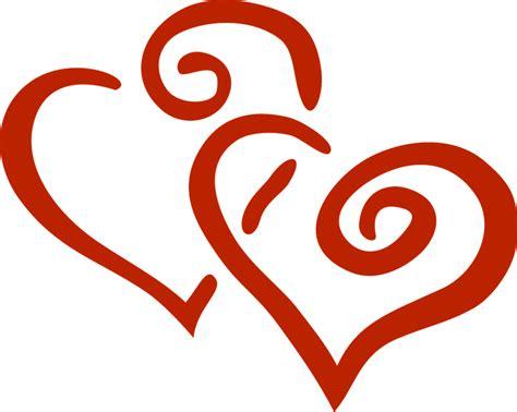 imagenes de corazones entrelazados hearts red intertwined 183 free vector graphic on pixabay