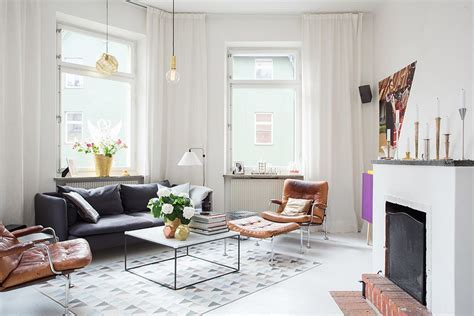 scandinavian apartment modern swedish apartment with snazzy scandinavian charm