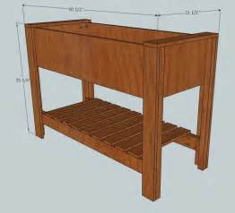Build Your Own Planter by Build Your Own Raised Planter Box Woodworking Projects Plans