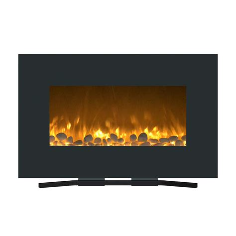 northwest electric fireplace wall mount floor stand