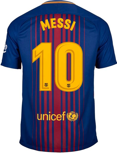 Barca Home New nike lionel messi barcelona home jersey 2017 18