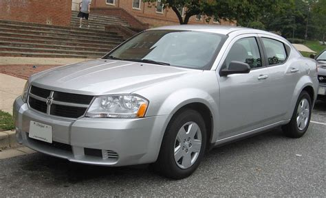 Is Dodge Part Of Chrysler by Dodge Avenger
