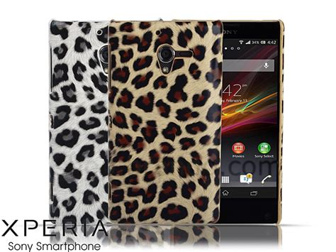 Xperia Zl Sony C6502 Backdoor Tutup Casing Back Cover Belakang sony xperia zl leopard stripe back