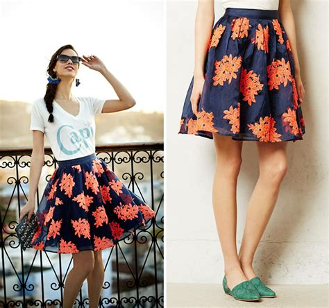 what to wear with high waisted skirt dress ala