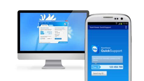 teamviewer android support your iphone or android device with teamviewer