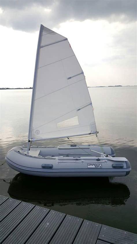 opvouwbare rubberboot met motor rib zeilboot aluminium opvouwbaar debo watersport debo