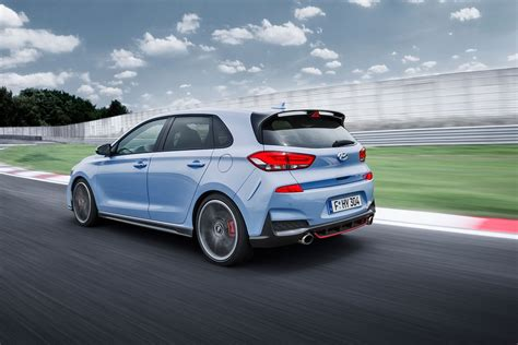 hyundai of hyundai i30n and i30 fastback revealed in pictures by car
