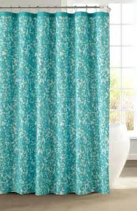 Fabric Shower by Turquoise Shower Curtain Rings Shower Ideas Turquoise