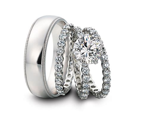 Wedding Bands For And by Should My Wedding Band Be Platinum Or Gold