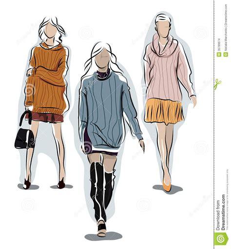 knit illustration knit sweater fashion illustration search