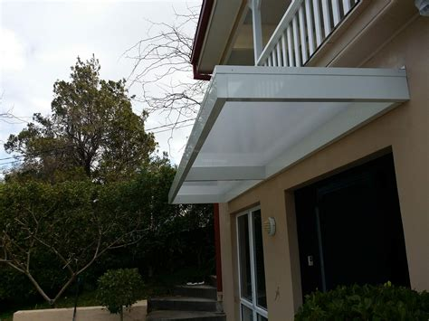 a frame awning slimline awnings white frame over a door eco awnings