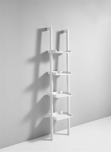 libreria da librerie da parete a colonna bergen in legno bianco 35 x