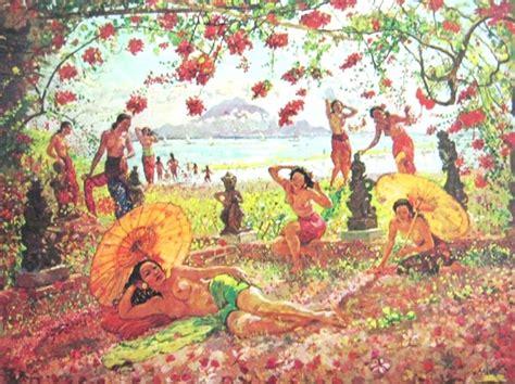 Lukisan Adrien Jean Le Mayeur De Merpres De Meisje Bali In Morgen 1000 images about asg ni pollok on artworks