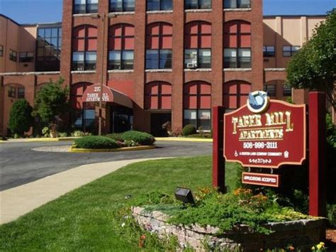 taber mill affordable apartments   bedford ma