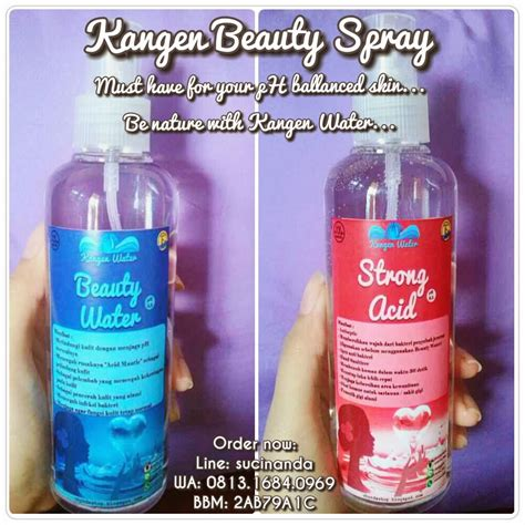 Water Spray Kangen Water Chynda Shop By Suci Nanda Kangen Water Spray