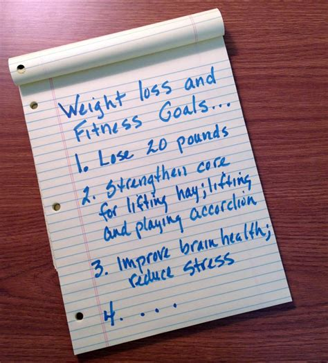 weight loss goals how to set weight loss goals for 2015 sixty one