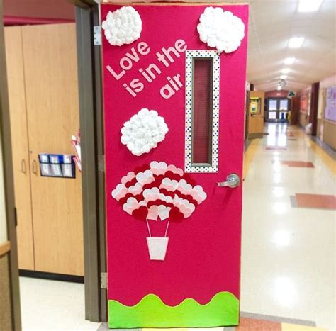 valentines door ideas my classroom valentines day door quot is in the air