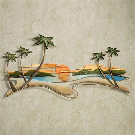 wall decor sculpture caribbean sunset metal wall sculpture by jasonw studios