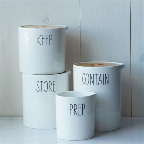 Storage Canisters For Kitchen by Labeled Kitchen Storage Canisters Contemporary Kitchen