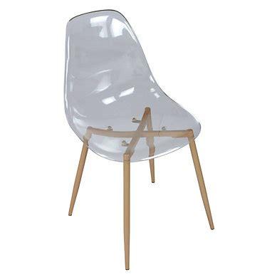 but chaise transparente chaise de salle 224 manger pas cher but fr