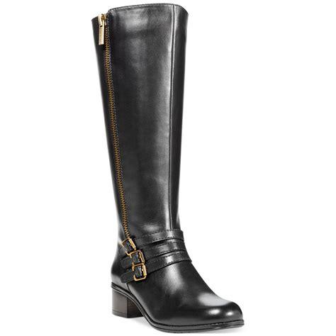 bandolino boots bandolino carsononia wide calf boots in black