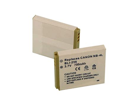 Battery Canon Nb 4l By New Digital empire bli 256 replacement li ion battery pack for canon nb 4l