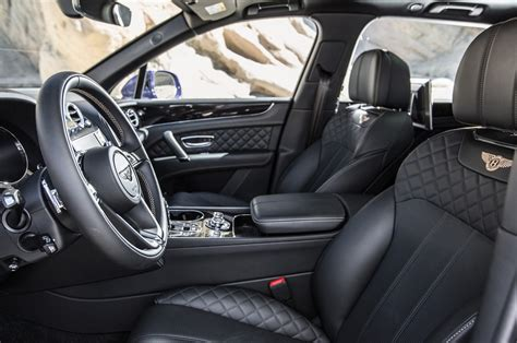 bentley bentayga 2016 interior bentley bentayga review and rating motor trend