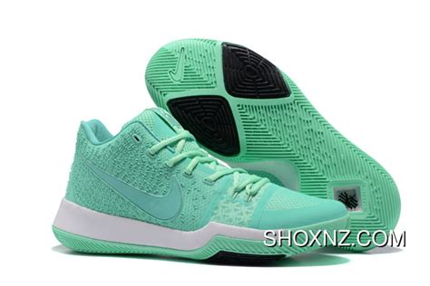 Promo 3 Green by Nike Kyrie 3 Mens Basketball Shoes Light Green White New