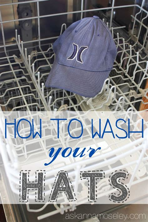 how to wash a hat baseball caps cleaning