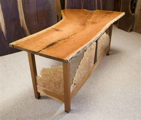 Handcrafted Desk - custom rustic wood furniture by dumond s custom furniture