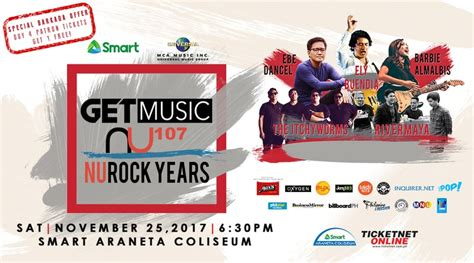 Music Giveaways - get music nu rock years tickets giveaway how to 101