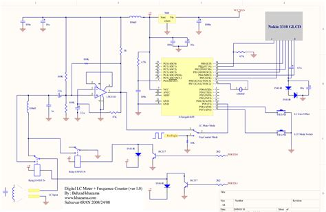 inductance meter schematic digital lc meter frequence counter