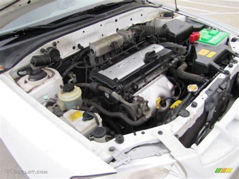 hyundai accent 1 6 dohc engine 2001 hyundai accent gs coupe 1 6 liter dohc 16 valve 4