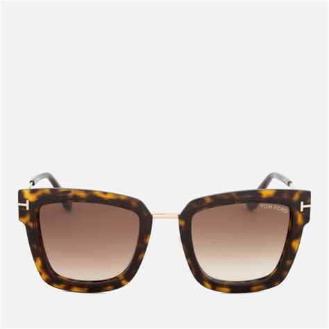 Tom Fordsquare Sunglasses tom ford s lara square frame sunglasses