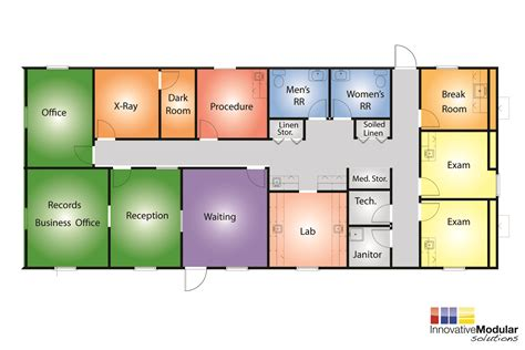 clinic floor plan available temporary or permament modular healthcare buildings
