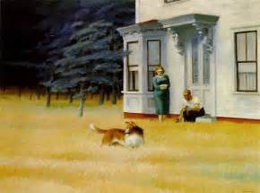 Work Out World Cape Cod - cape cod evening 1939 by edward hopper