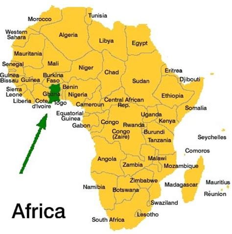 africa map 2010 where s teamholloway s