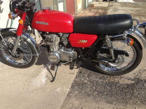 1974 honda cb 350f motorcycle