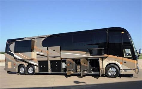 luxury motor homes luxury motorhome quot the oasis quot 126 pics