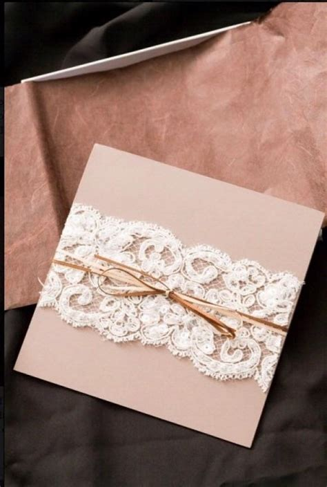 Wedding Invitations Diy by Diy Lace Wedding Invitation Cheap Wedding Invitation