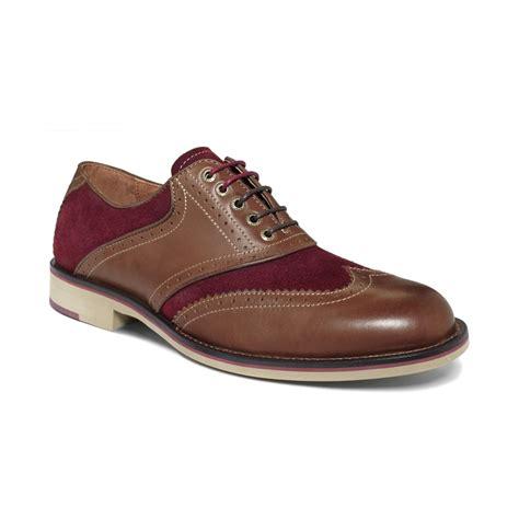 johnston murphy shoes johnston murphy ellington wingtip lace up shoes in brown