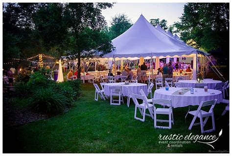 backyards for rent for weddings backyard wedding lissa brett mn wedding planner