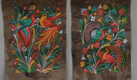mexican arts imports 13 photos 10 reviews art mexican folk art bark paintings birds phoenix and flowers