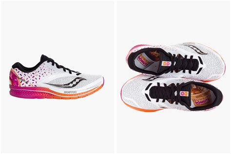 boston marathon running shoes saucony and dunkin donuts team up for sweet boston